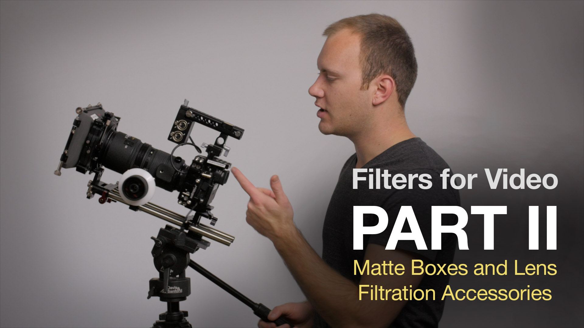 Filters for Video Part II: Matte Boxes and Lens Accessories