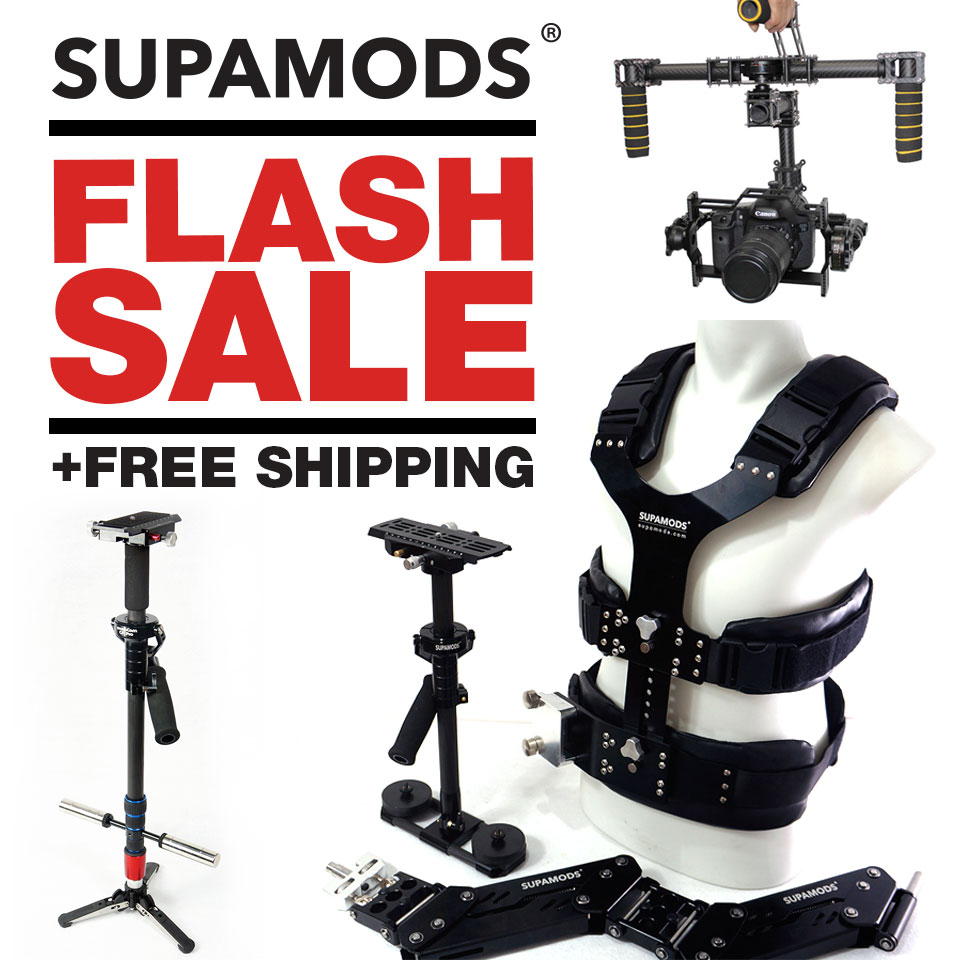 Supamods Gear Discounts on Rigs, Stabilizers, Gimbals and More