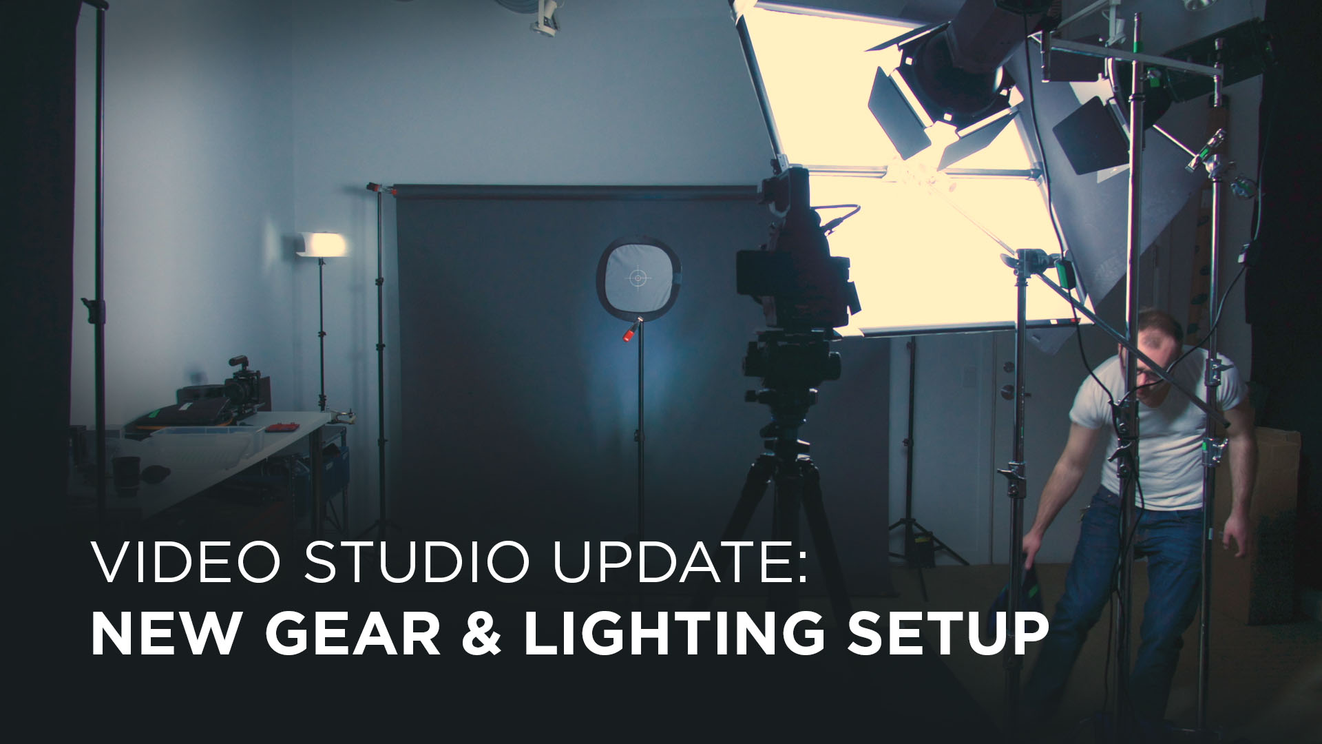 The Studio Part 4: New Studio Lighting and Setup