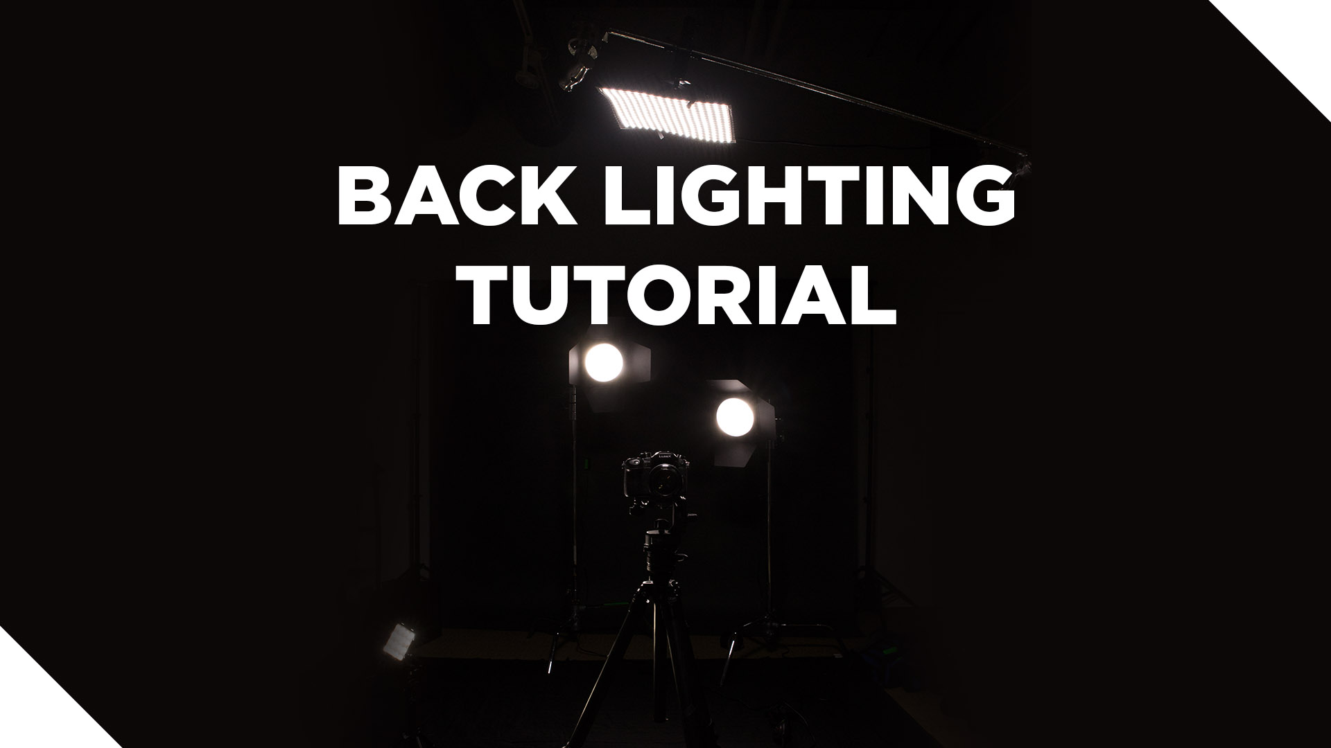 Lighting Tutorial: How to Create Dramatic Back Lighting