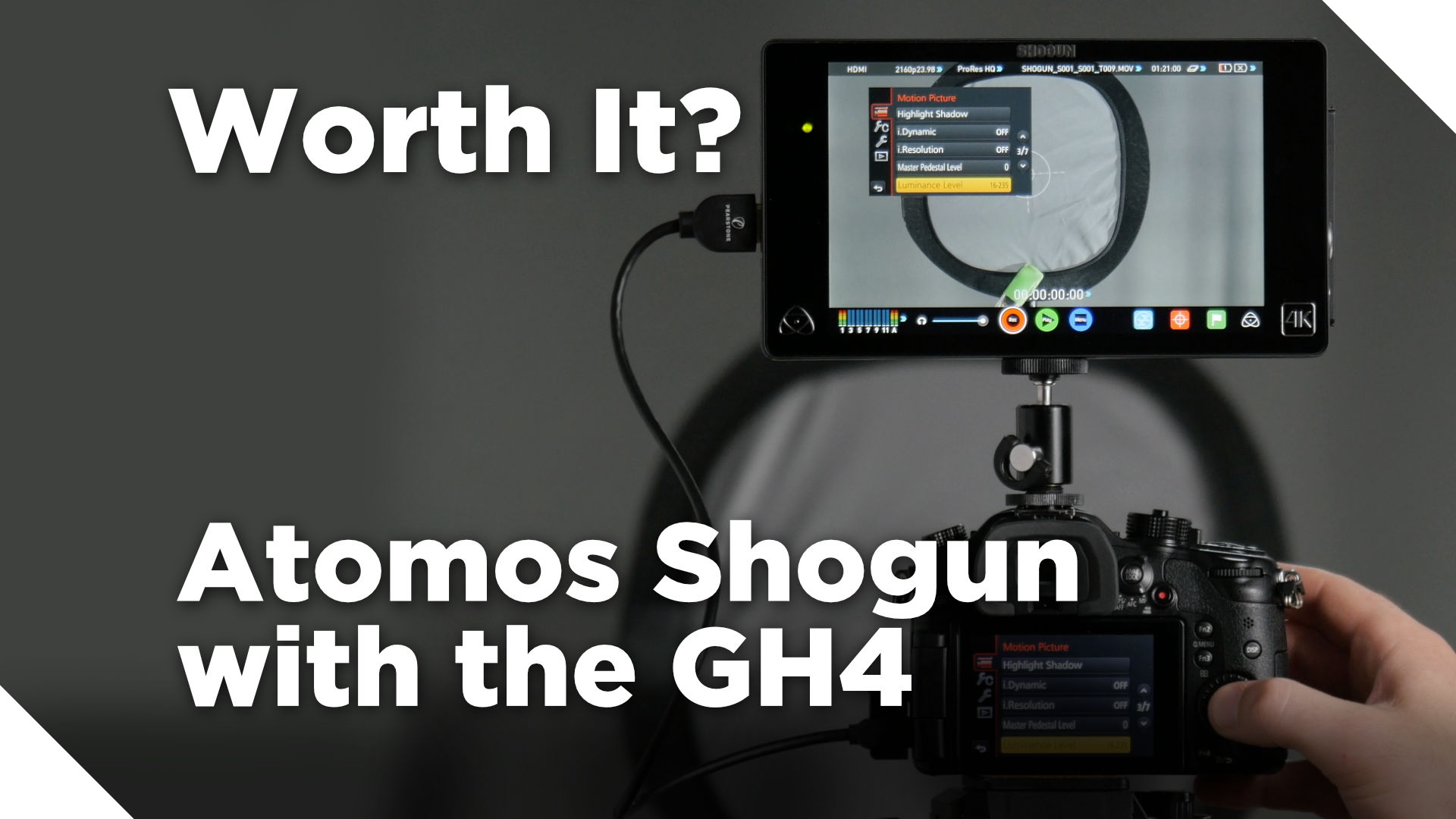 Atomos Shogun with the GH4 – Worth It?