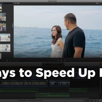 Speed up FCPX
