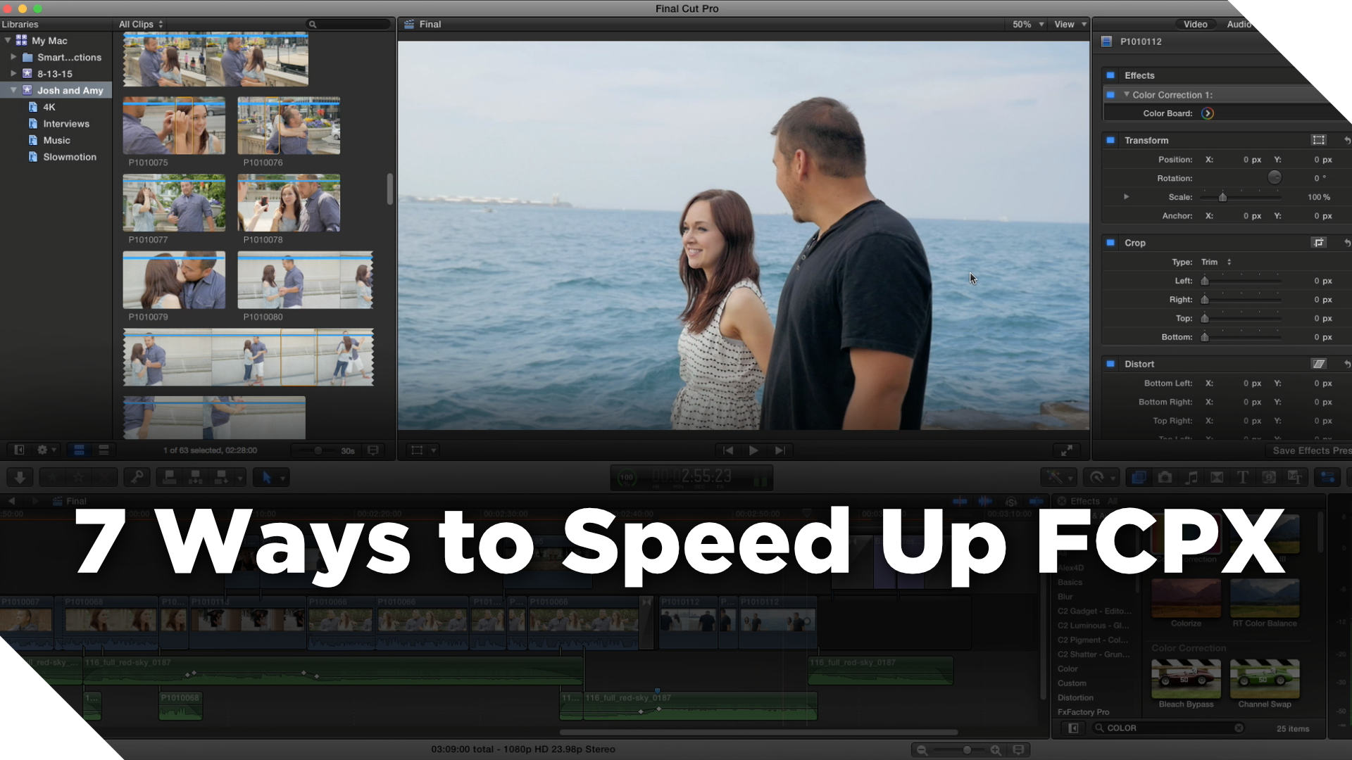 Final Cut Pro X Slow? Here are 7 Ways to Speed up FCPX