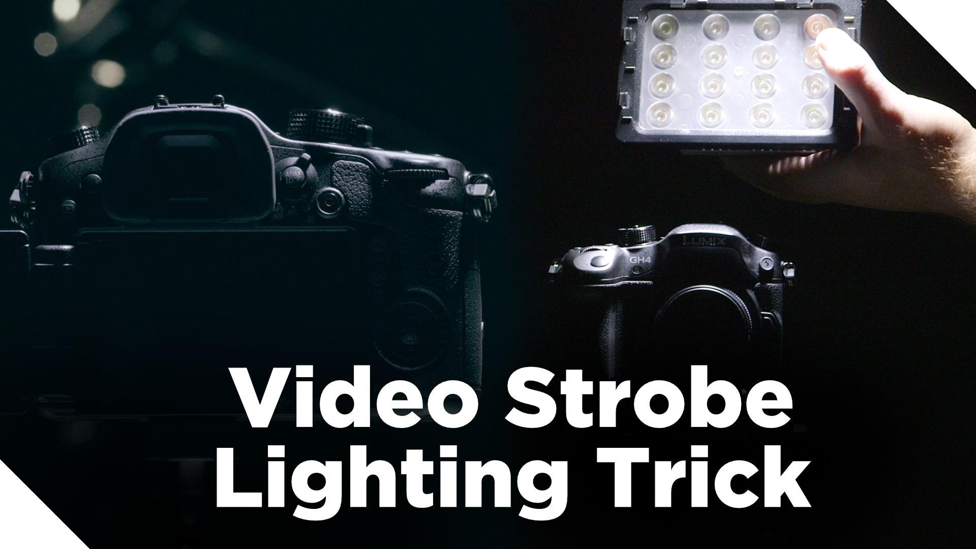 Sweet Video Strobe Lighting Trick