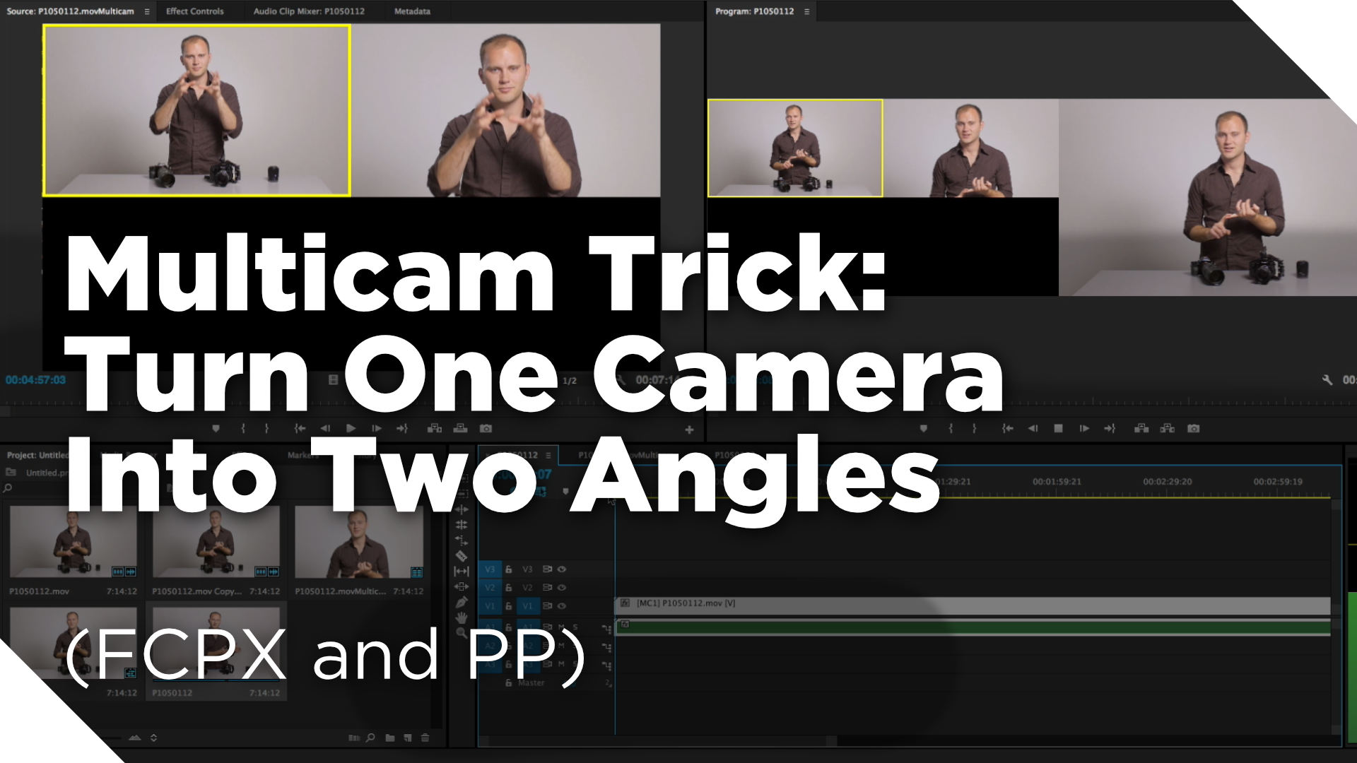 Multicam Trick: How to Turn One Camera Into Two Angles