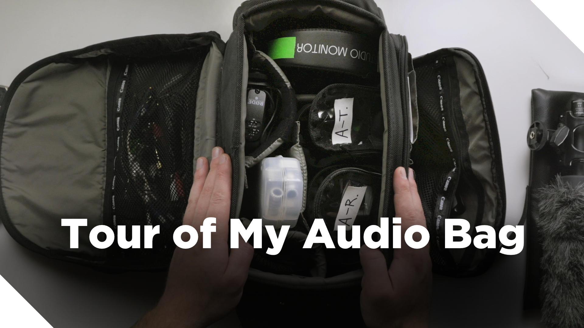 Video Tour of My Audio Bag