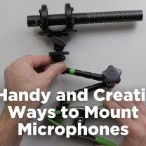 mount microphones