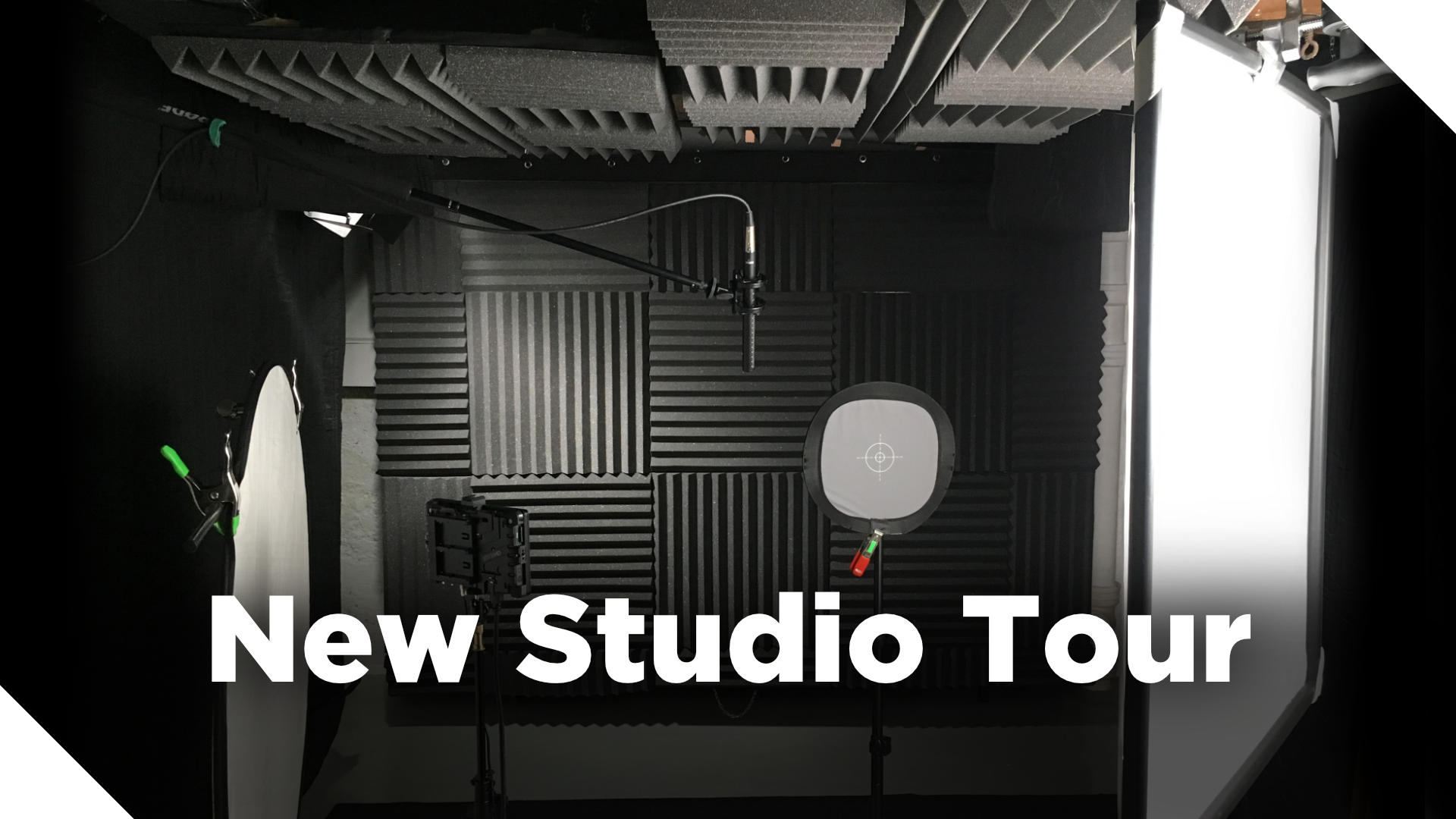 New Video Studio Tour!
