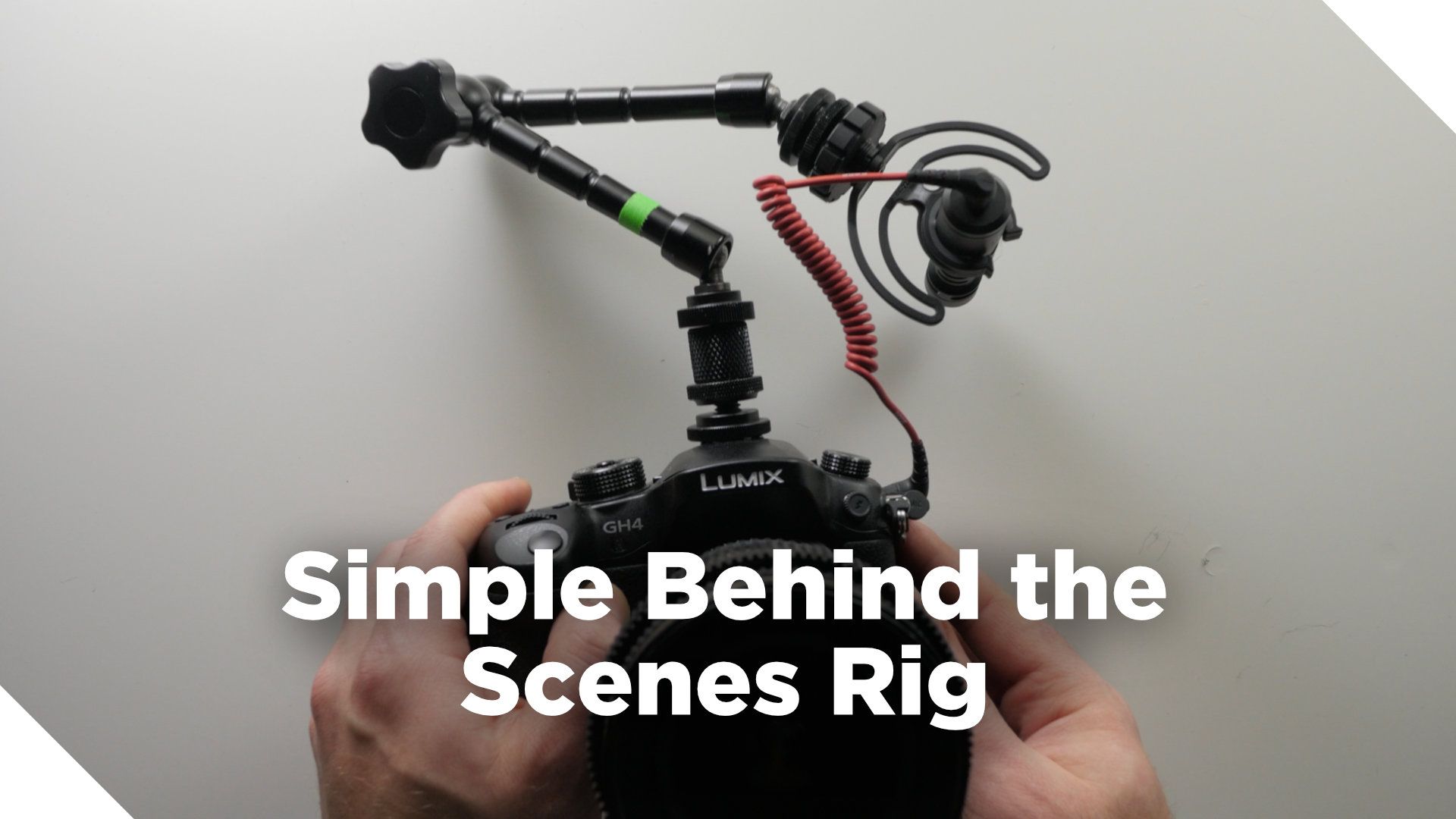 Behind the Scenes Camera Rig Setup