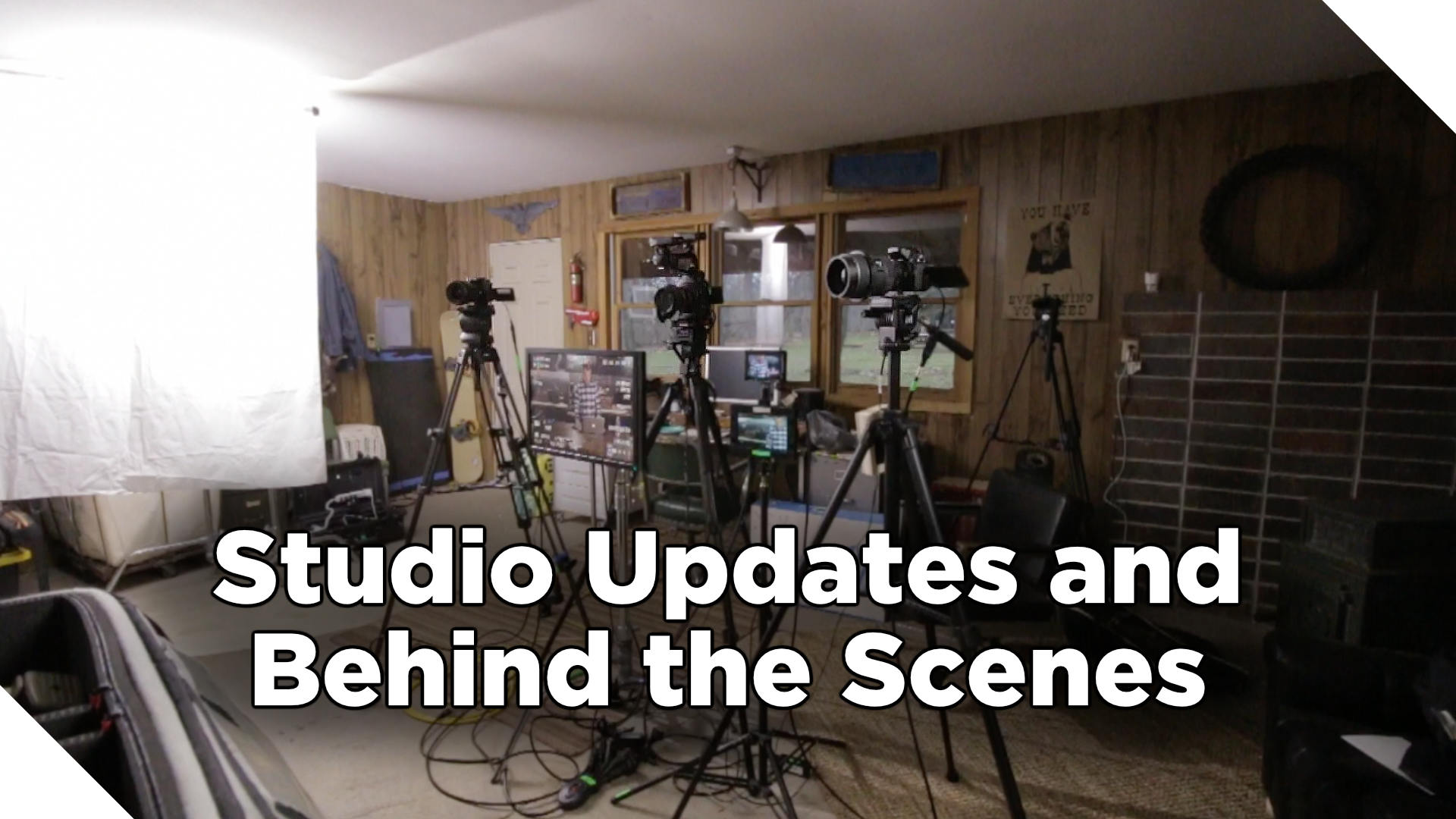 Studio Updates and Behind the Scenes of the Corporate Video Guide