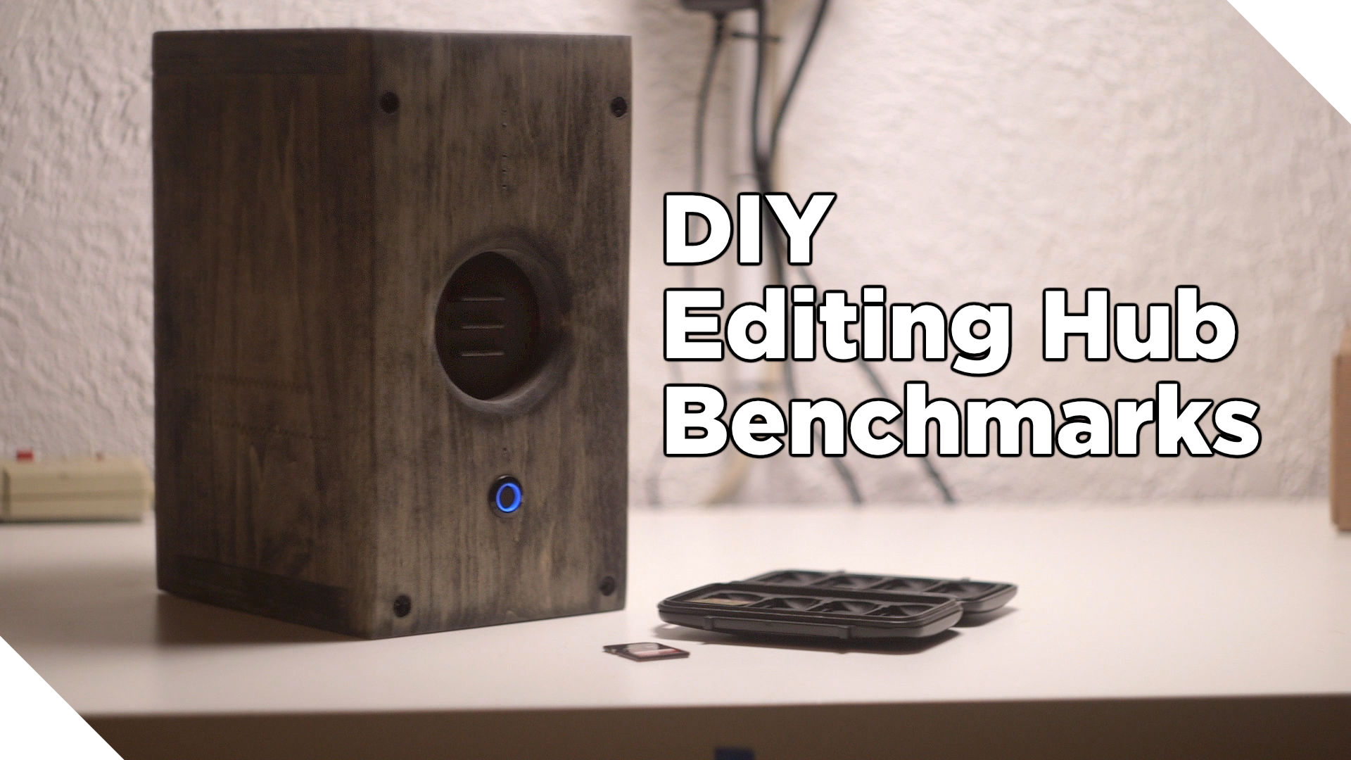 DIY Editing Hub Speed Benchmarks