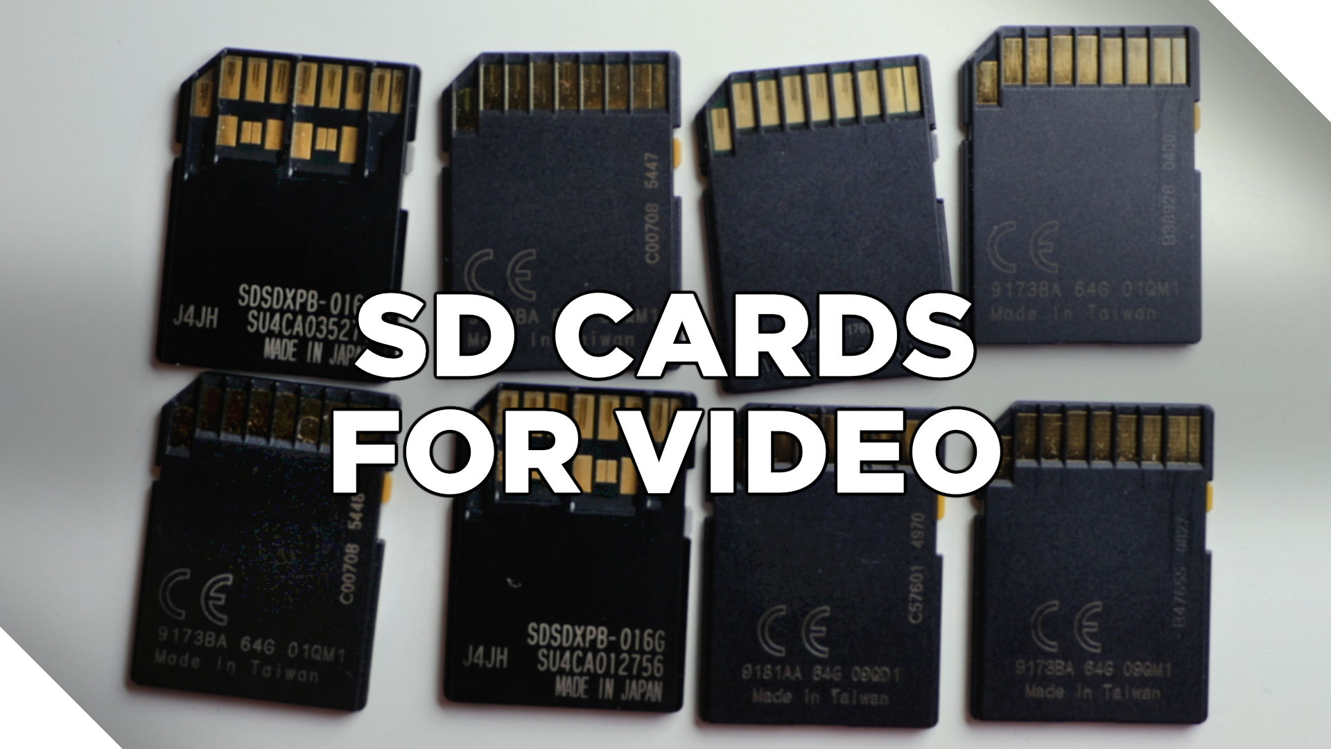My Favorite SD Cards for Video