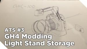 Around The Studio #3: GH4 Hacking and Light Stand/Tripod Storage