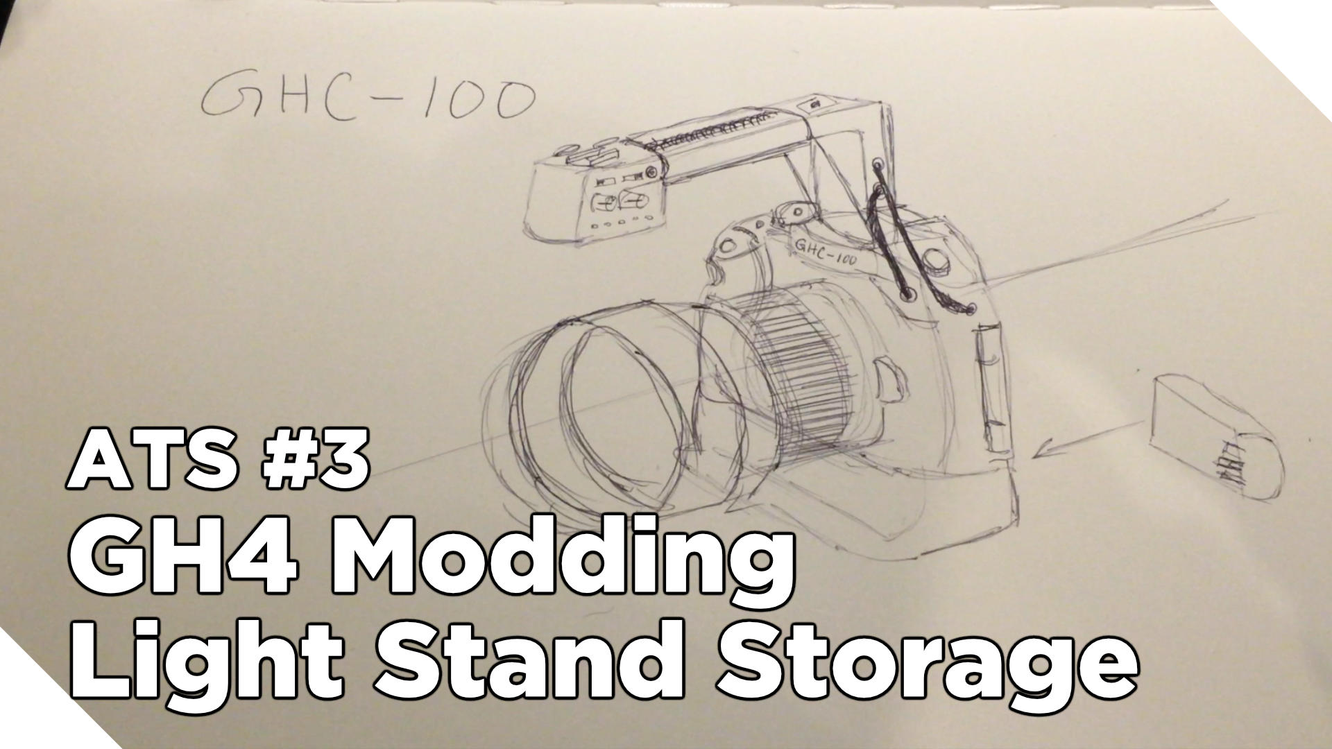 Around The Studio #3: GH4 Hacking and Light Stand/Tripod Storage