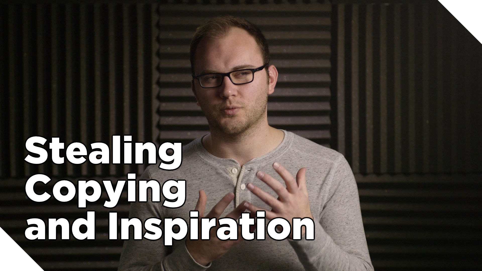 Stealing, Copying and Inspiration
