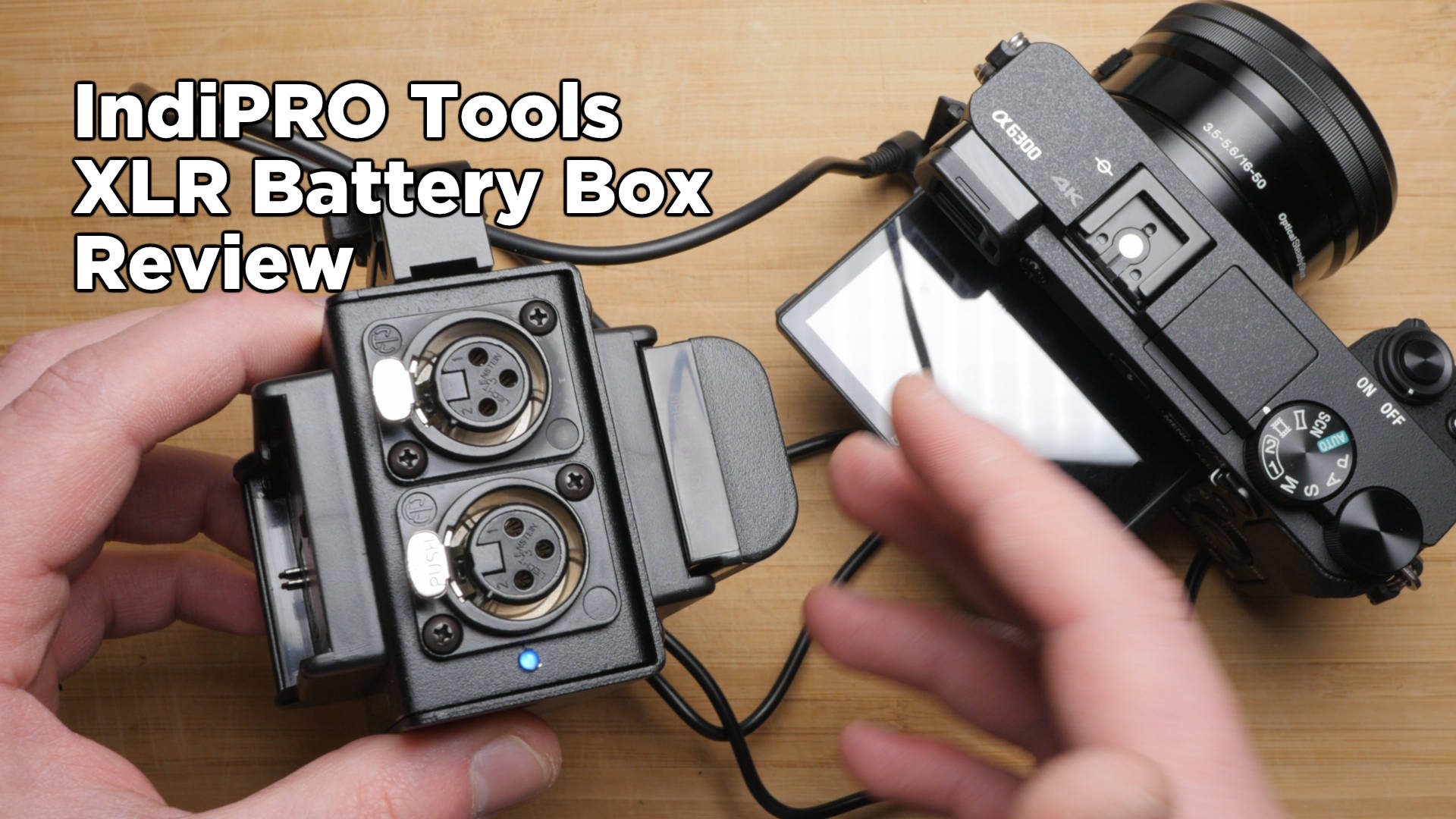IndiPro Tools XLR Battery Box Review