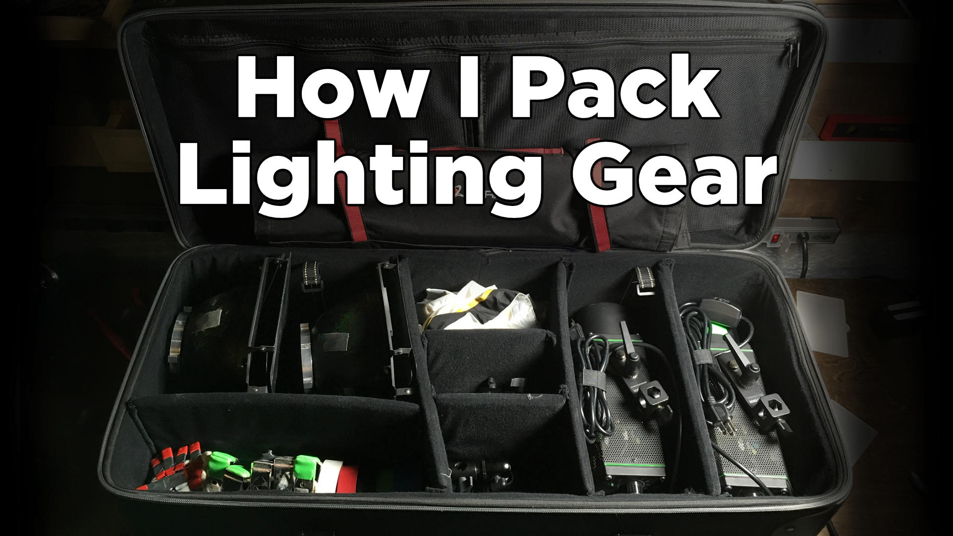 How I Pack My Lighting Gear
