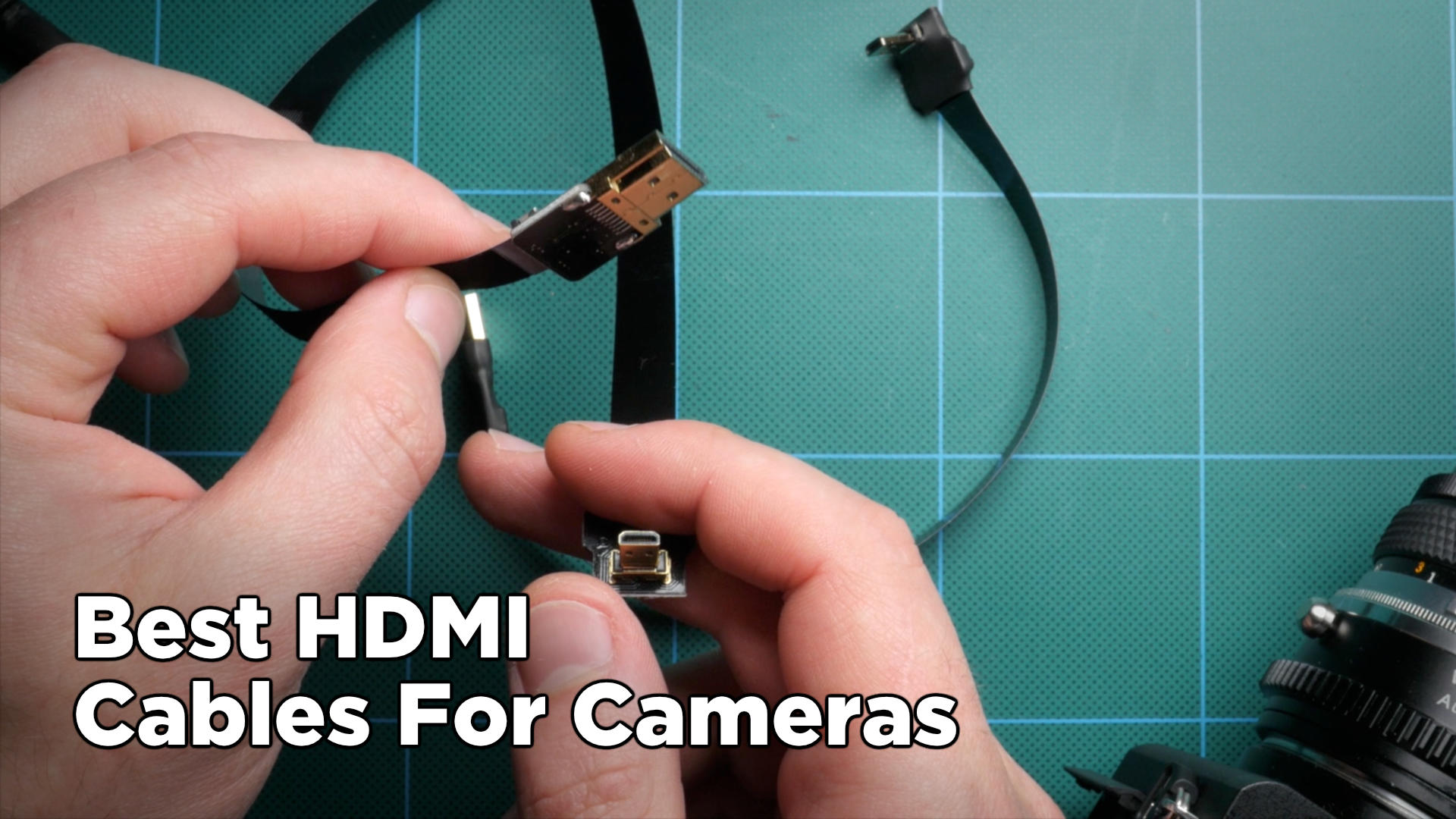 Best HDMI Cables For Video Cameras