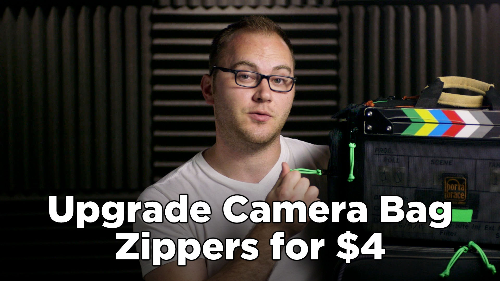 Upgrade Camera Bag Zipper Pulls for $4