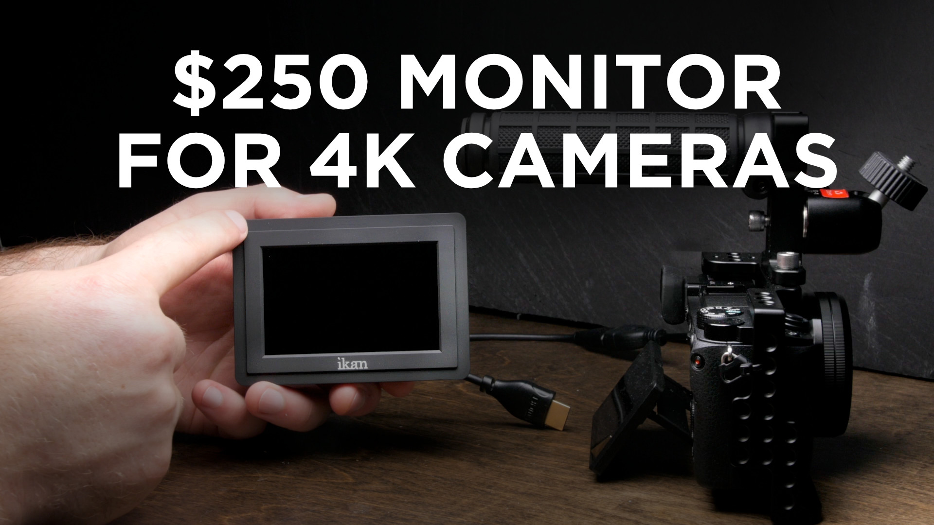 $250 Monitor for 4K Cameras: iKan VL35 Review