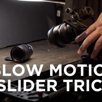slow motion trick