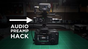 Hacking the $23 Saramonic Preamp For Video Use