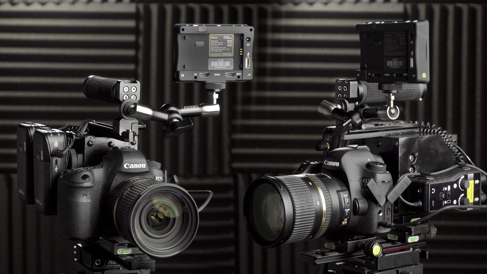 Simple DIY Cinema Camera Rig For 240