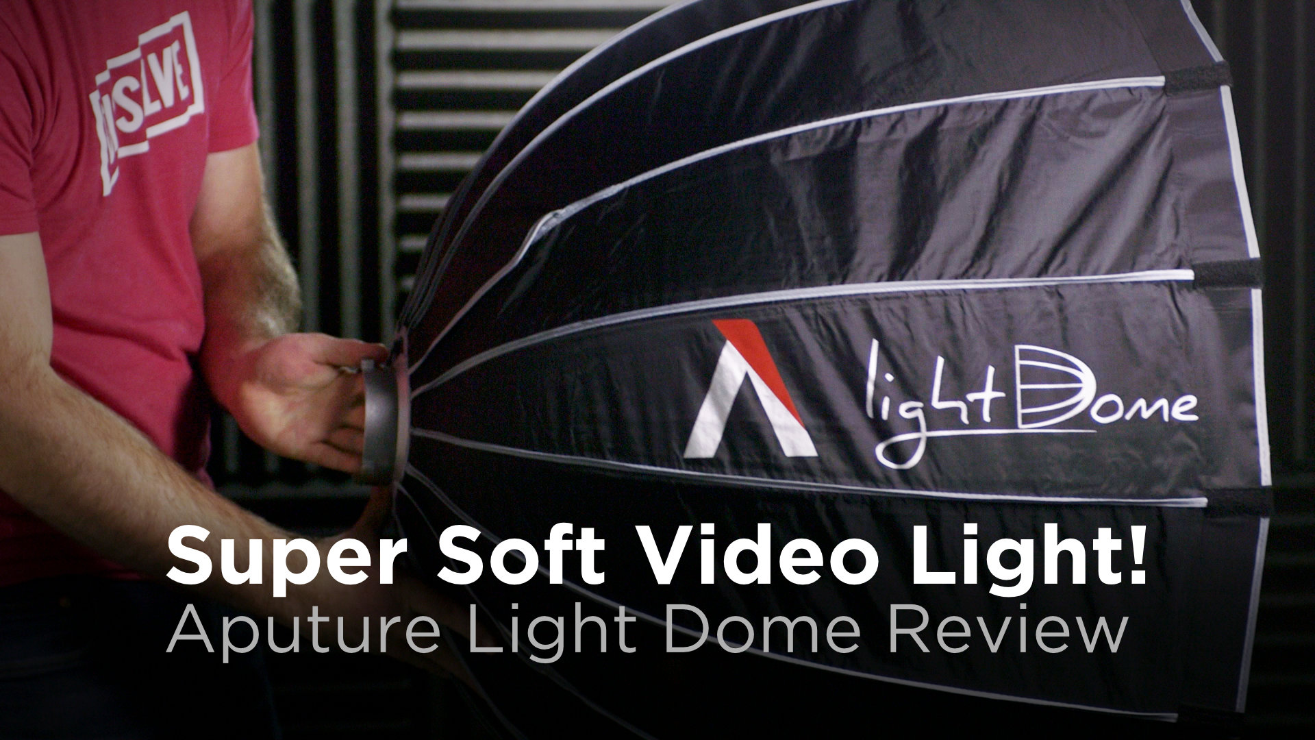 Super Soft Video Light: Aputure Light Dome Review