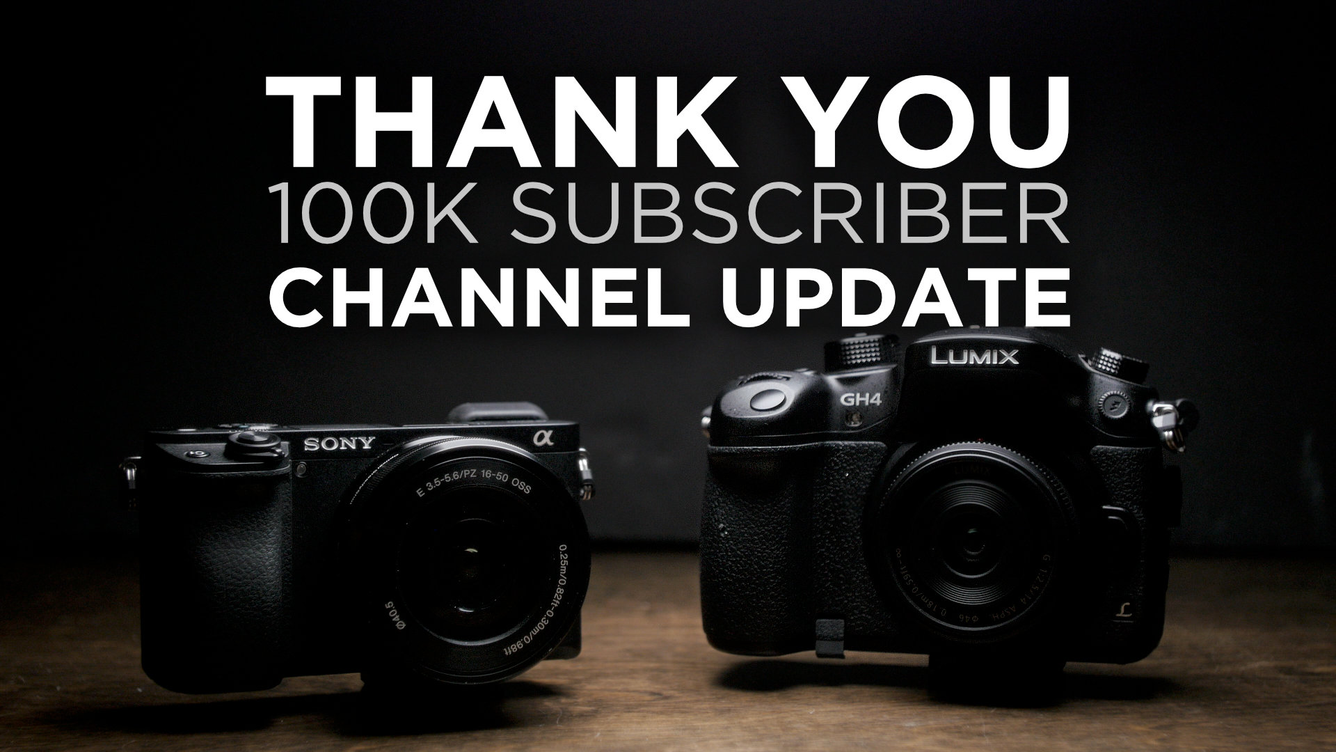 Channel Update: Thank You for 100K! What's Next?