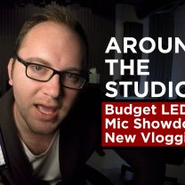 Around the Studio #7: Budget LEDs, Mic Showdown, New Vlogging Rig