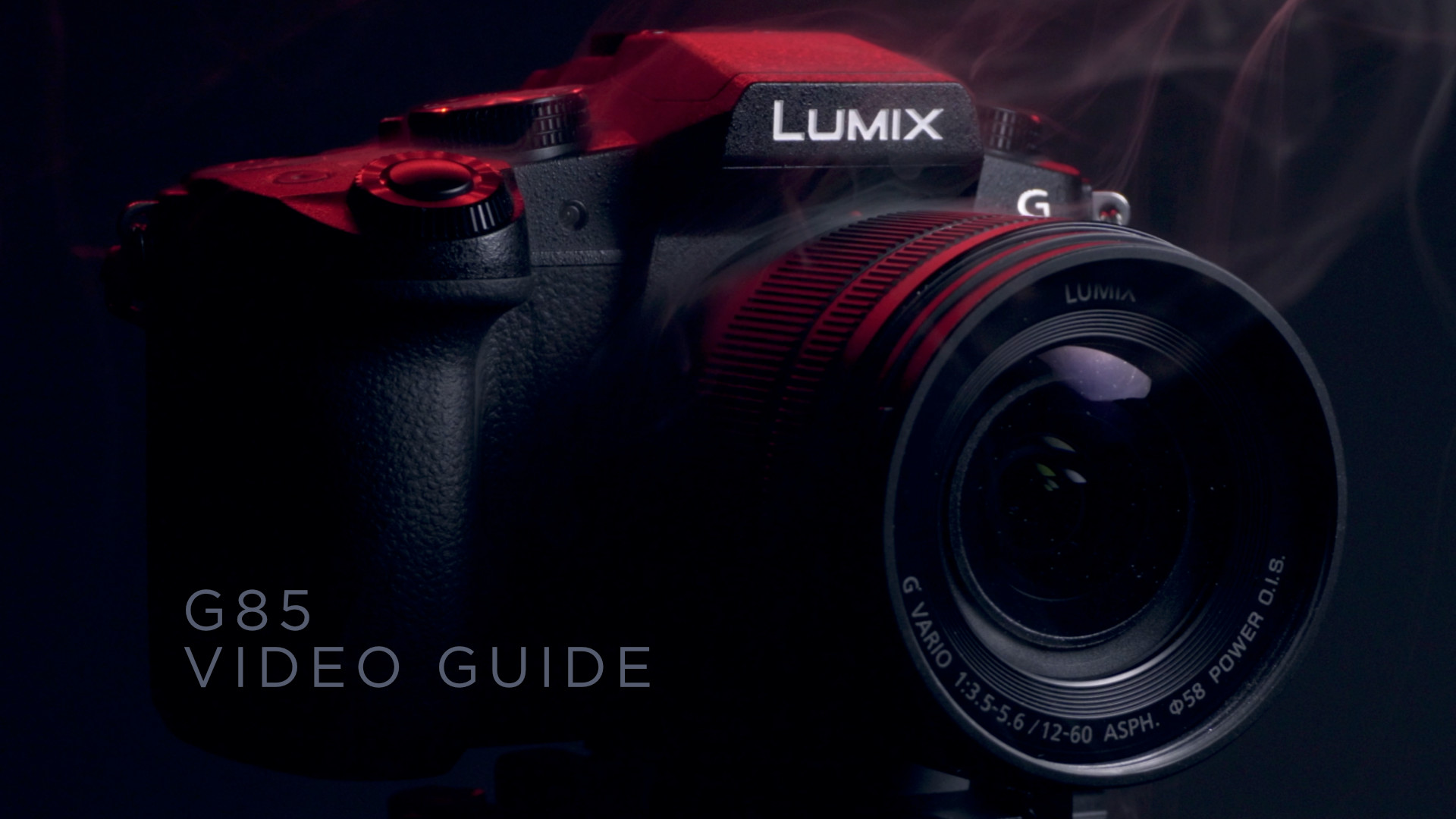 Panasonic G85 Video Guide Available!