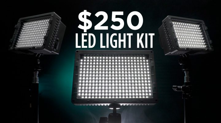 $250 LED Video Lighting Kit