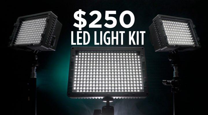 $250 LED Video Lighting Kit