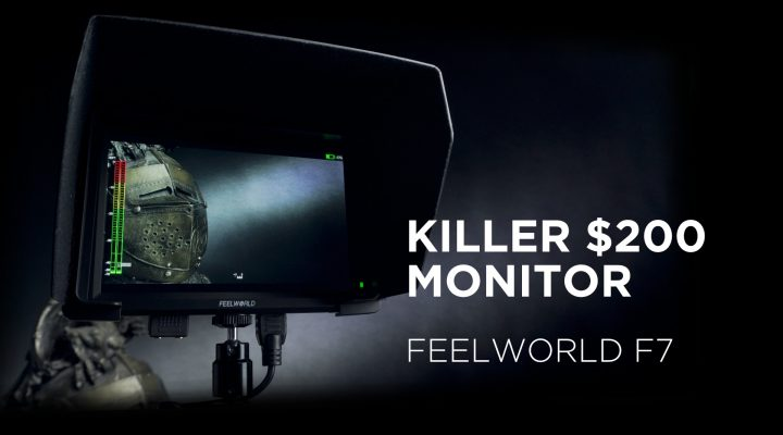 $200 4K Capable 7″ Camera Monitor – Feelworld F7 Review