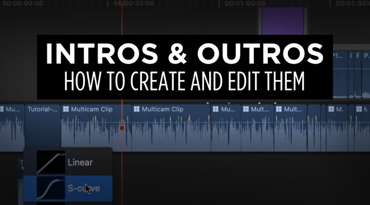 How I Created and Edit My Intro and Outro Clips