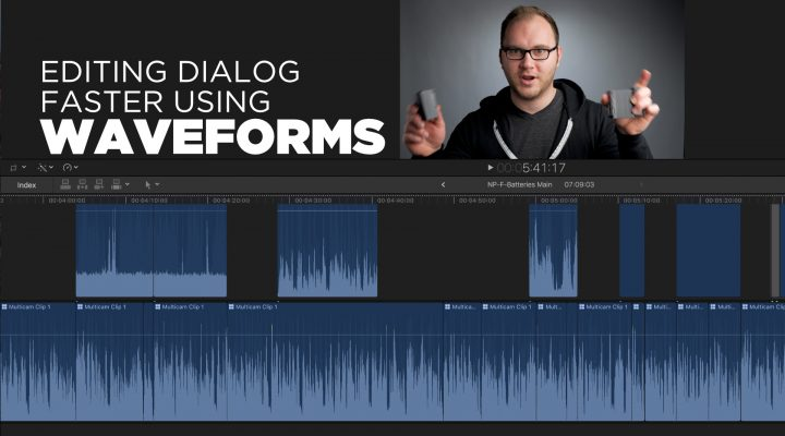 Edit Dialog Faster Using Waveforms