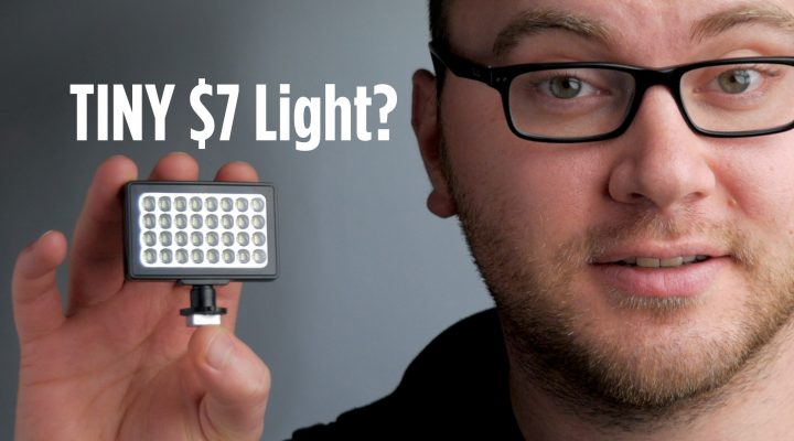 $7 Video LED Light?