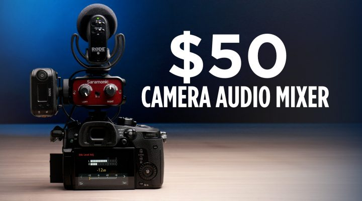 $50 Camera Audio Mixer With Some Killer Features