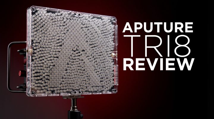 Aputure Tri8 LED Review – Wildly Bright iPad Sized Light