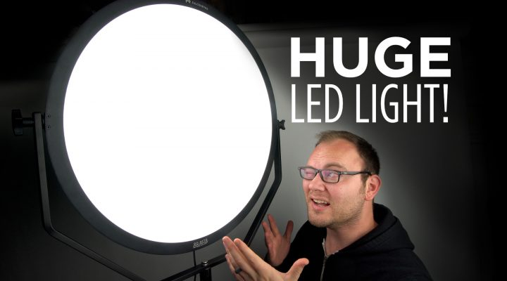HUGE Video LED Panel Review