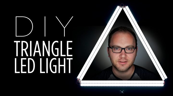 "DIY Triangle ""Ring"" LED Light"
