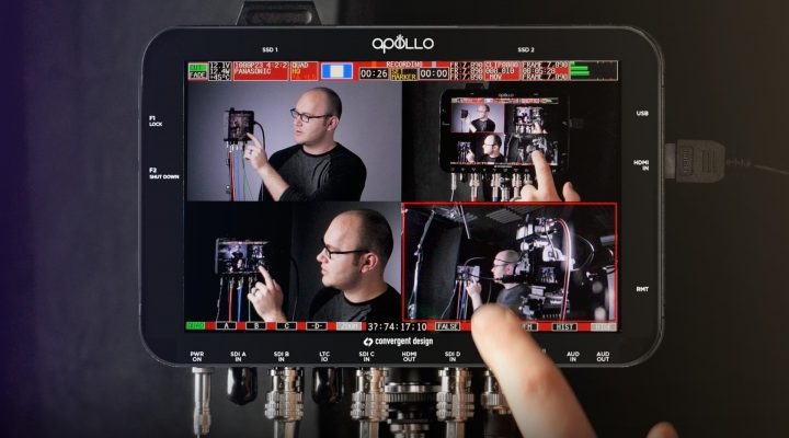 Multicam Video Recorder, Switcher and Monitor All In One! – Convergent Design Apollo Recorder Review