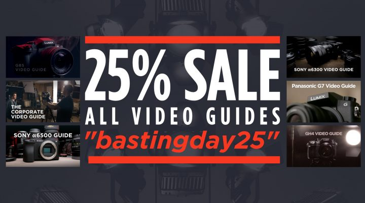 Video Guide Sale! 25% Off All Courses at the Academy