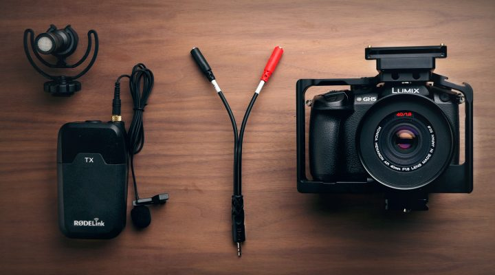 Record 2 Microphones to Your Camera Separately for $5