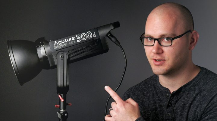 One Light to Rule Them All – Aputure 300D Review!