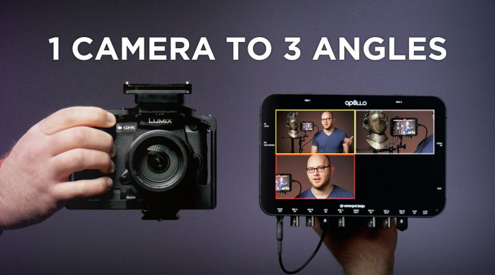 Turn 1 Camera Into 3 Angles! Convergent Design Titan Extract Review