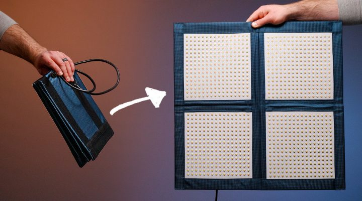 Foldable LED Video Light! Intellytech LiteCloth LC-160 Review
