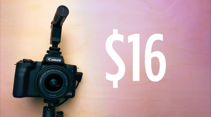 $16 Camera Microphone For Video – Good Enough or Garbage?