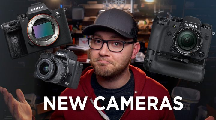 So Many New Cameras!