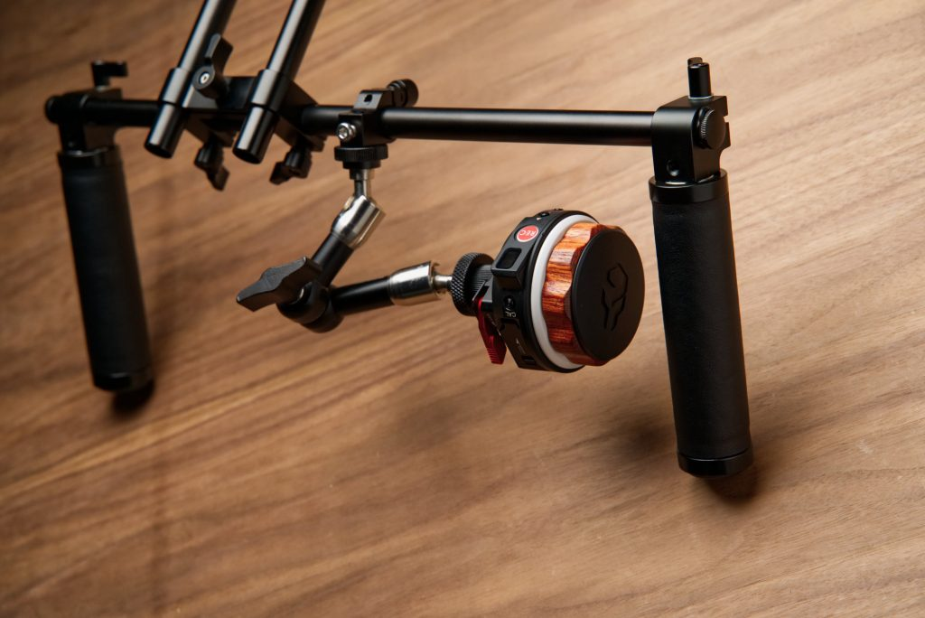 Photo Studio Accessories Have An Inquiring Mind Neewer Dslr Dual Handle Hand Grip For Shoulder Pad Chest Steady 15mm Rail Rod Rig Support System